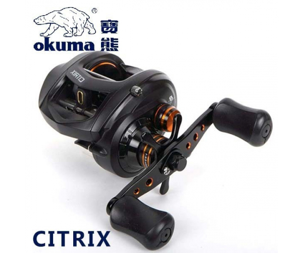 Катушка Okuma Citrix LP CI-364LXa (Left hand) 6.4:1 7+1bb (арт.123413531482)