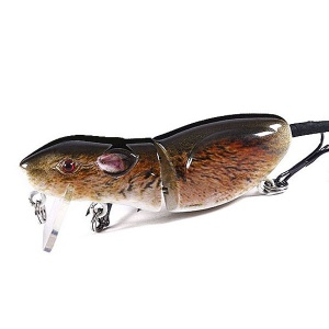 Воблер Fox Topwater Mouse 6.3cm 10.5g Brown